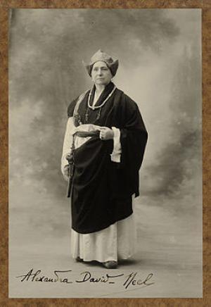 Alexandra David-Neel - Reiseschriftstellerin und ordinierte buddhistische Nonne in Tibet
