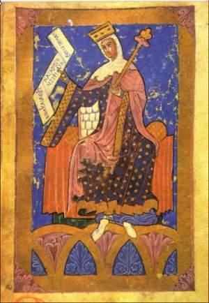 Könign Urraca von Léon und Kastilien