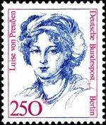 Briefmarke Luise von Preußen