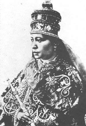 Zuaditu, Kaiserin von Äthiopien