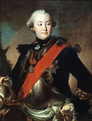 Grigori Grigorjewitsch Orlow, Liebhaber von Zarin Katharina II.