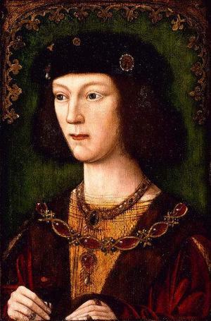 König Heinrich VIII als junger Mann.