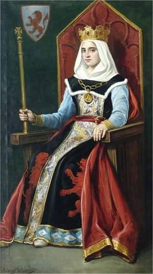 Königin Urraca, Ölgemälde