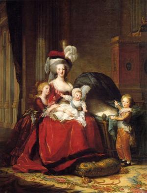 K�nigin Marie Antoinette und ihre Kinder