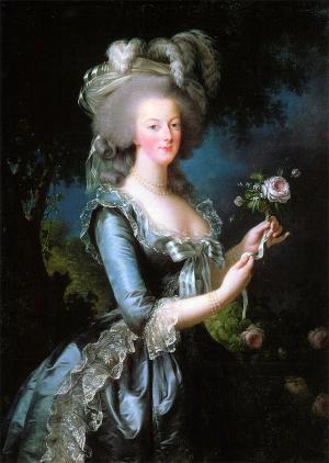Marie Antoinette Gemälde von 1783
