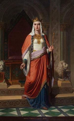 Urraca, Königin von Leon und Kastilien